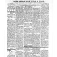 Le Journal de l'arrondissement de Valognes, numéro du 09 novembre 1906