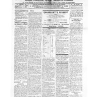 Le Journal de l'arrondissement de Valognes, numéro du 30 juillet 1921