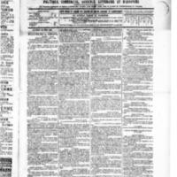 Le Journal de l'arrondissement de Valognes, numéro du 15 avril 1886