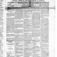 Le Journal de l'arrondissement de Valognes, numéro du 15 novembre 1889
