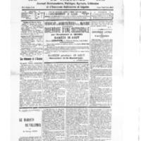 Le Journal de l'arrondissement de Valognes, numéro du 16 août 1930