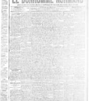 Le Bonhomme normand, numéro du 03 avril 1914