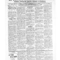 Le Journal de l'arrondissement de Valognes, numéro du 30 avril 1909