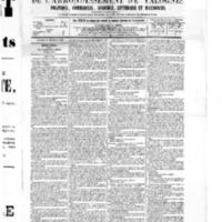 Le Journal de l'arrondissement de Valognes, numéro du 24 décembre 1875