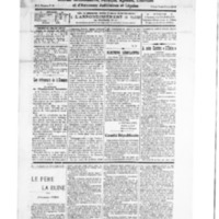 Le Journal de l'arrondissement de Valognes, numéro du 03 mars 1928