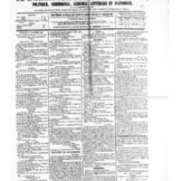 Le Journal de l'arrondissement de Valognes, numéro du 09 septembre 1881