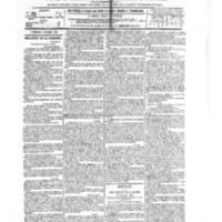 Le Journal de l'arrondissement de Valognes, numéro du 06 octobre 1882