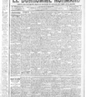 Le Bonhomme normand, numéro du 15 mai 1914