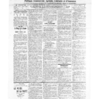 Le Journal de l'arrondissement de Valognes, numéro du 12 février 1909
