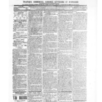 Le Journal de l'arrondissement de Valognes, numéro du 14 août 1903