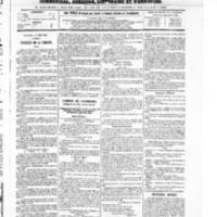 Le Journal de l'arrondissement de Valognes, numéro du 19 juin 1868