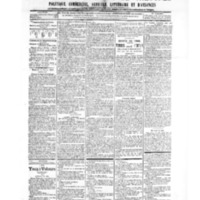 Le Journal de l'arrondissement de Valognes, numéro du 02 février 1906