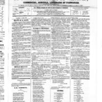Le Journal de l'arrondissement de Valognes, numéro du 07 avril 1865