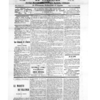 Le Journal de l'arrondissement de Valognes, numéro du 01 décembre 1928