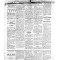 Le Journal de l'arrondissement de Valognes, numéro du 22 novembre 1913
