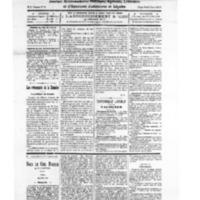 Le Journal de l'arrondissement de Valognes, numéro du 16 janvier 1926