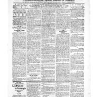 Le Journal de l'arrondissement de Valognes, numéro du 11 octobre 1907