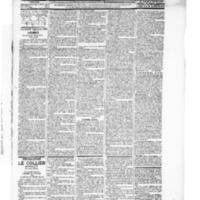 Le Journal de l'arrondissement de Valognes, numéro du 25 septembre 1896