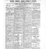 Le Journal de l'arrondissement de Valognes, numéro du 26 août 1881