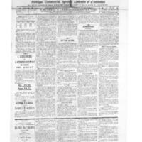 Le Journal de l'arrondissement de Valognes, numéro du 11 janvier 1913