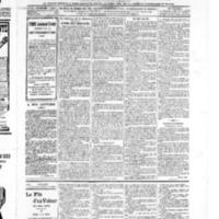 Le Journal de l'arrondissement de Valognes, numéro du 21 décembre 1906