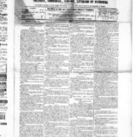 Le Journal de l'arrondissement de Valognes, numéro du 06 mars 1885