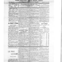 Le Journal de l'arrondissement de Valognes, numéro du 19 mai 1928