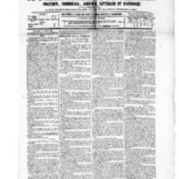 Le Journal de l'arrondissement de Valognes, numéro du 17 avril 1885