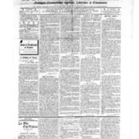 Le Journal de l'arrondissement de Valognes, numéro du 04 janvier 1907