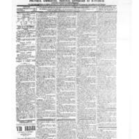 Le Journal de l'arrondissement de Valognes, numéro du 02 octobre 1903