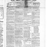 Le Journal de l'arrondissement de Valognes, numéro du 14 août 1885