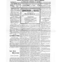 Le Journal de l'arrondissement de Valognes, numéro du 01 octobre 1932