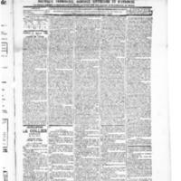 Le Journal de l'arrondissement de Valognes, numéro du 31 janvier 1896