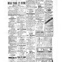 Le Journal de l'arrondissement de Valognes, supplément au numéro du 08 avril 1881