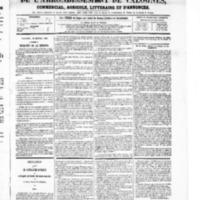 Le Journal de l'arrondissement de Valognes, numéro du 10 janvier 1868