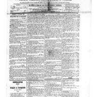 Le Journal de l'arrondissement de Valognes, numéro du 03 novembre 1882