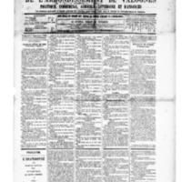 Le Journal de l'arrondissement de Valognes, numéro du 06 septembre 1889