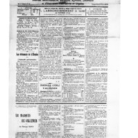 Le Journal de l'arrondissement de Valognes, numéro du 22 décembre 1928