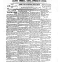 Le Journal de l'arrondissement de Valognes, numéro du 18 novembre 1881