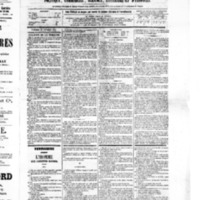 Le Journal de l'arrondissement de Valognes, numéro du 26 février 1875