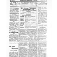 Le Journal de l'arrondissement de Valognes, numéro du 30 juillet 1932