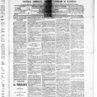 Le Journal de l'arrondissement de Valognes, numéro du 05 décembre 1890