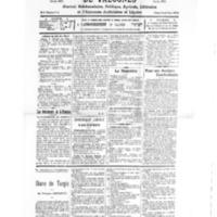 Le Journal de l'arrondissement de Valognes, numéro du 27 février 1932