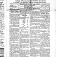 Le Journal de l'arrondissement de Valognes, numéro du 02 juillet 1886