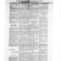 Le Journal de l'arrondissement de Valognes, numéro du 25 août 1928