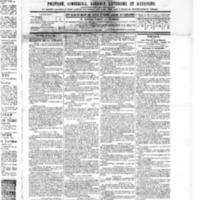 Le Journal de l'arrondissement de Valognes, numéro du 28 mai 1886