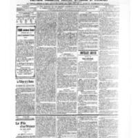Le Journal de l'arrondissement de Valognes, numéro du 07 décembre 1906