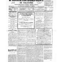 Le Journal de l'arrondissement de Valognes, numéro du 02 mars 1935