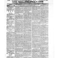 Le Journal de l'arrondissement de Valognes, numéro du 08 septembre 1905