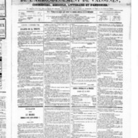 Le Journal de l'arrondissement de Valognes, numéro du 15 septembre 1865